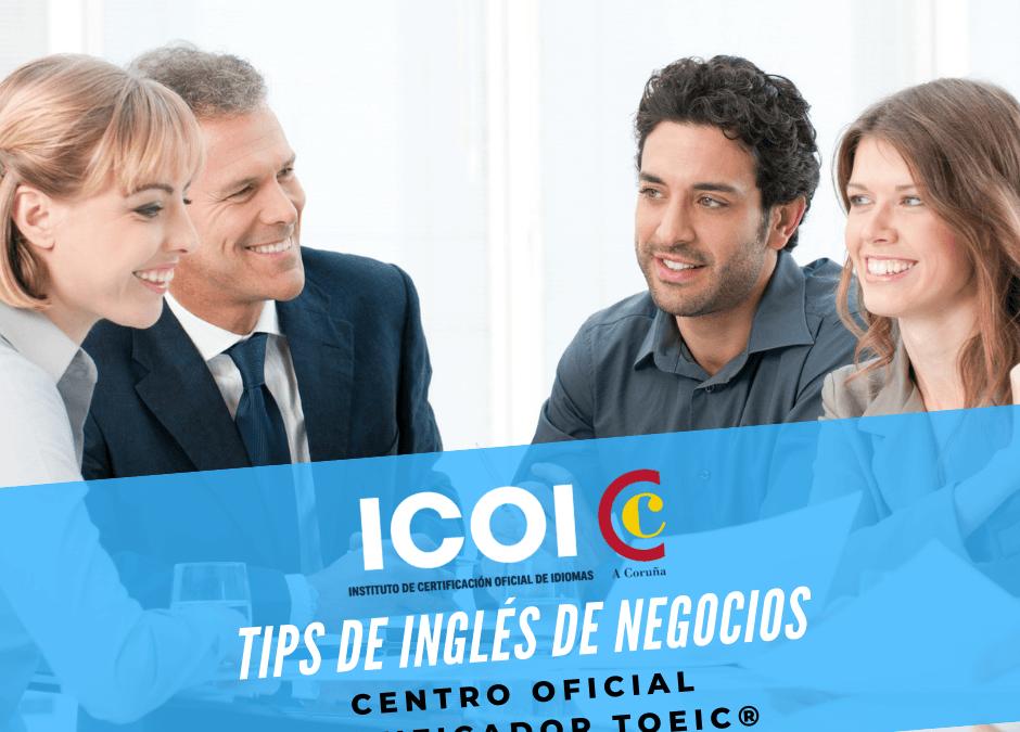 Tips para mejorar tú de Inglés de Negocios